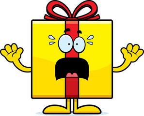 Scared Cartoon Birthday Gift