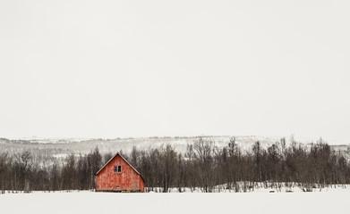 Hut in the Snow