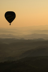 Hot Air Baloon over Italy