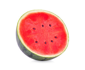 slice watermelon  on white background