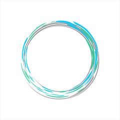 Light Blue Motion Zen Symbol