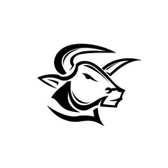 Head bull Art