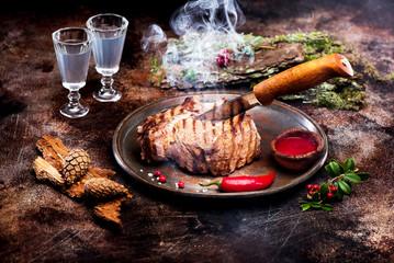 Fototapete - Roast beef