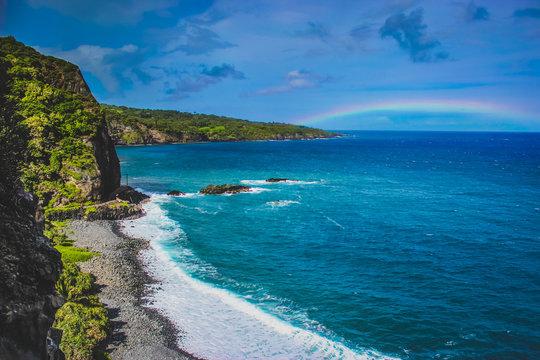 Maui Beach Rainbow