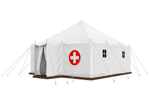 Medical Tent Isolated