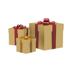 3d render gift