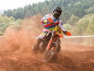 high speed motocross