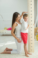 Measuring the growth of a child