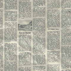 Vector old newspaper background texture.