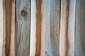 Holzlattenzaun