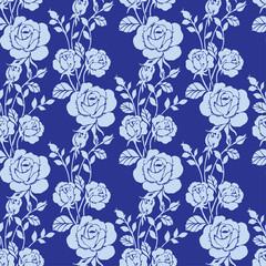 floral  rose pattern seamless