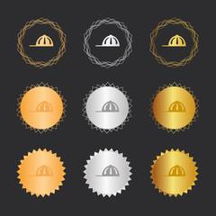 Baseballcap - Bronze, Silber, Gold Medaillen