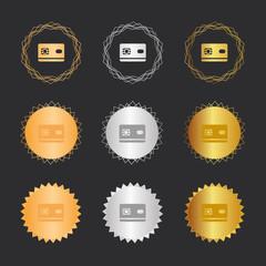 Chipkarte - Bronze, Silber, Gold Medaillen