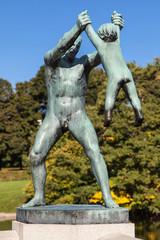 Vigeland Park, Man Swinging Boy