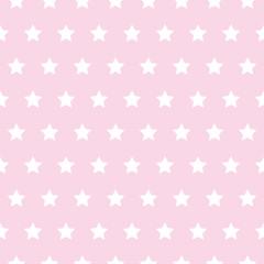 baby star pattern white on pink