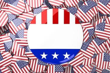 Composite image of vote button