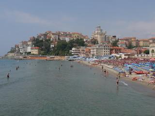 Imperia Borgo Marina - panorama su Porto Maurizio