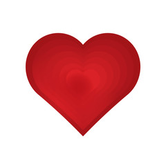 Vector illustration of medical heart  background.