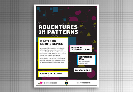 Adventures in Patterns Flyer