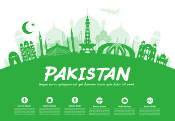 Pakistan Travel Landmarks.
