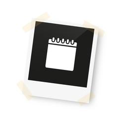 eingeklebtes Foto - Kalender