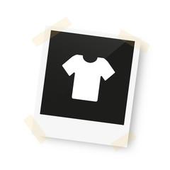 eingeklebtes Foto - T-Shirt