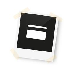 eingeklebtes Foto - Scheckkarte
