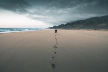 Lonely Beach of Cofete - Fuerteventura