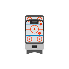 Air hockey game machine icon