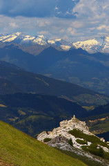 Stubai Alps from Dolomites