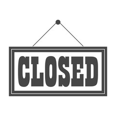 Closed Sign - Illustration