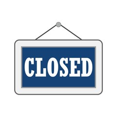 Closed Sign - Illustration