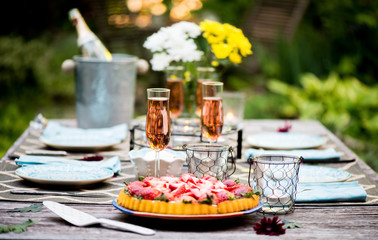 Series: Garden Dinner Party Dessert Course
