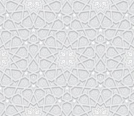 Geometric Grey Pattern with light background