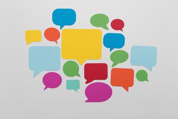communication speak bubble
