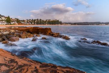 Early Morning Seascape Shorescape