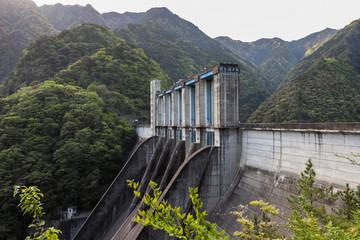 Photo sur Aluminium Barrage Sakuma Dam (佐久間ダム) in Shizuoka/Aichi, Japan