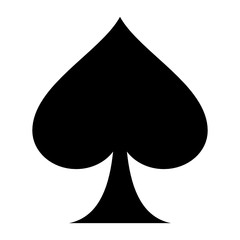 playing card flat icon for apps and websites - icône jeux de cartes pour sites web et applicaitons