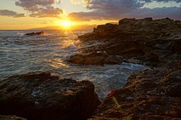 Sonnenaufgang bei Chersonissos, Kreta
