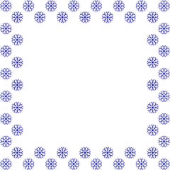 Snowflake frame 30.10