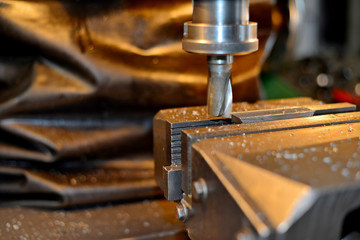 lathe and milling machine with water cooling