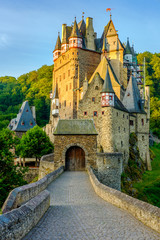 Aluminium Prints Castle Burg Eltz castle in Rhineland-Palatinate, Germany.