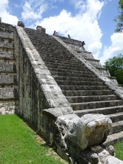 Chichen Itzá, Stair of the Mayan, yucatan (Mexico)