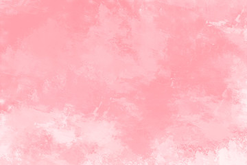 Pink watercolor background. Digital painting.