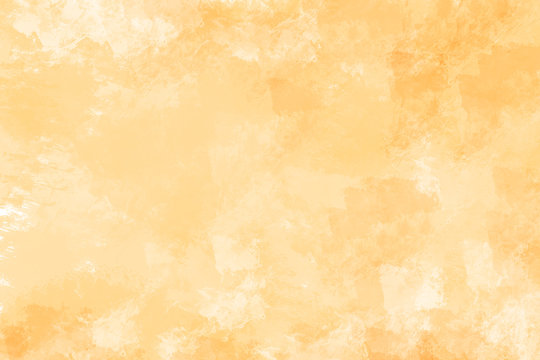 Yellow watercolor background. Digital painting.