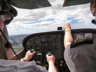 Pilot flight instructor Fototapete