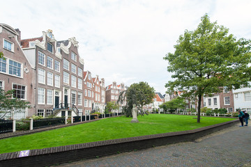The Begijnhof in Amsterdam