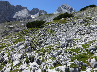 Karstlandschaft on the way to the highest mountain of Germany, the Zugspitze 6