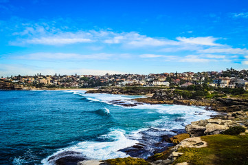 Beautiful Bondi Beach Walk From Sydney, Australia