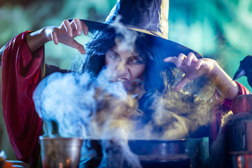 Young Witch Is Cooking With Magic